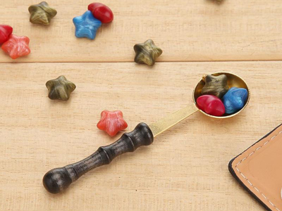 New Design Round Belly Wax Melting Spoon