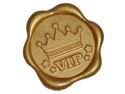 Custom Logo Wax Stamp Seal Stickers